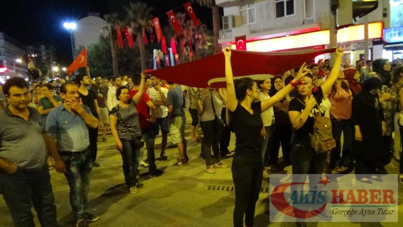 Teröre Protestoda Denizli'de Gergin Gece 10