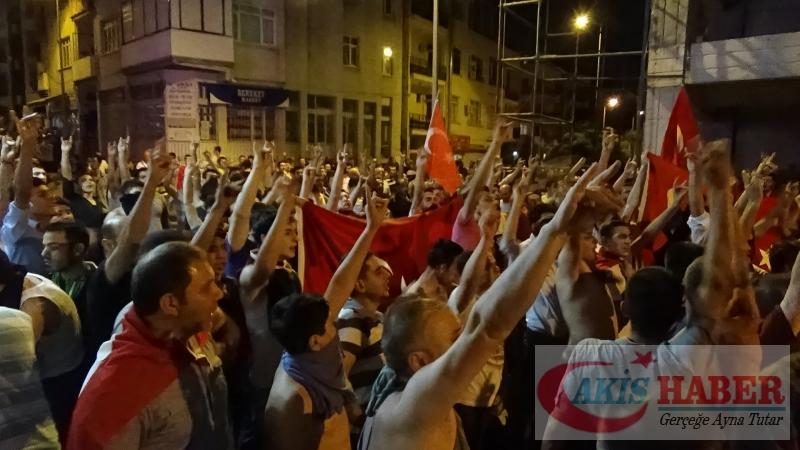 Teröre Protestoda Denizli'de Gergin Gece 17