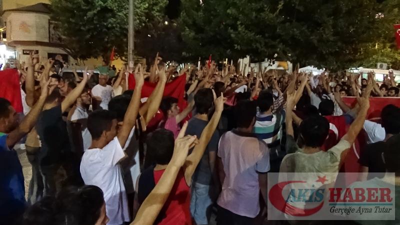 Teröre Protestoda Denizli'de Gergin Gece 19