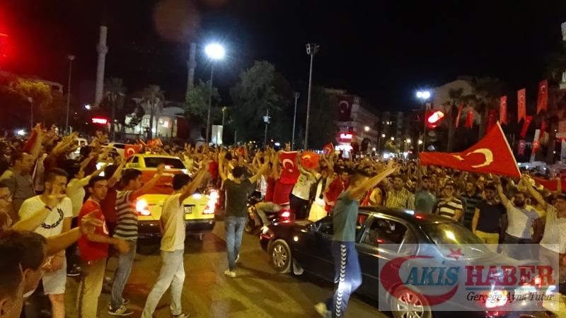 Teröre Protestoda Denizli'de Gergin Gece 2