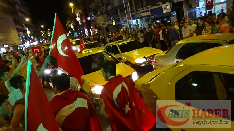 Teröre Protestoda Denizli'de Gergin Gece 27