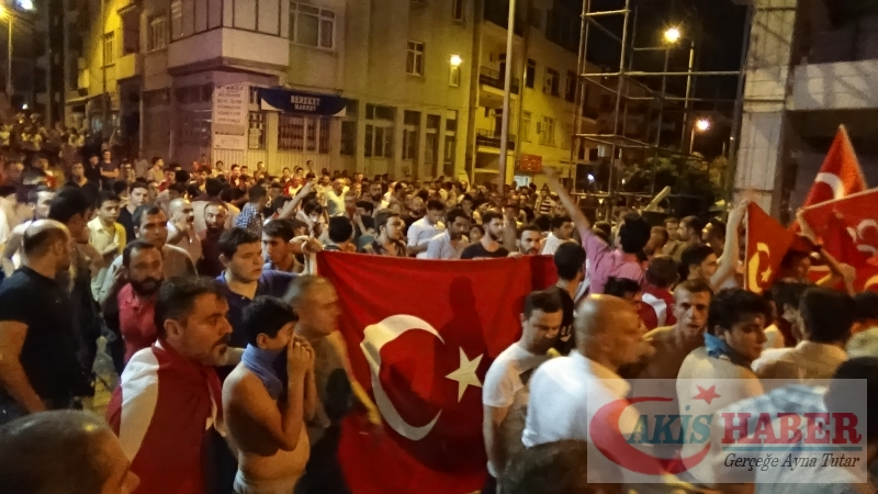 Teröre Protestoda Denizli'de Gergin Gece 28