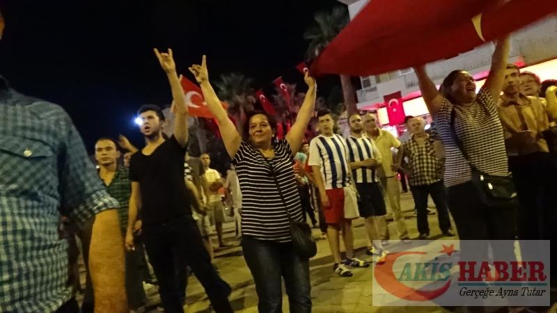 Teröre Protestoda Denizli'de Gergin Gece 29