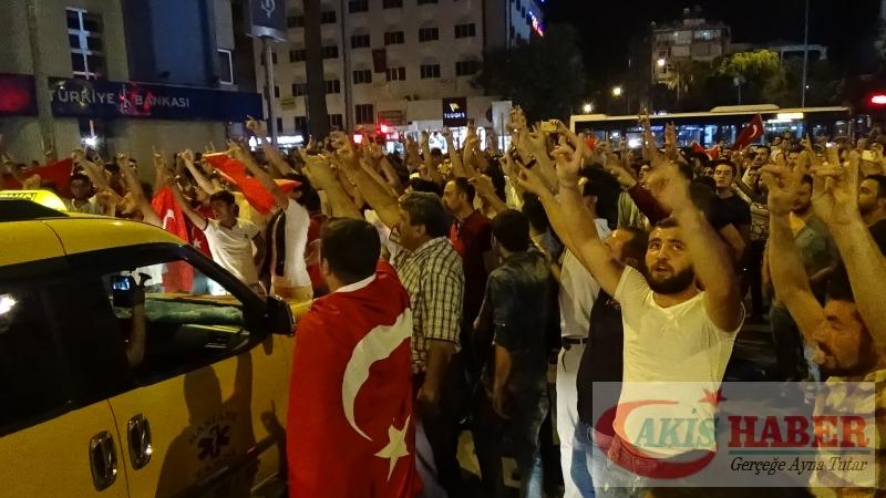 Teröre Protestoda Denizli'de Gergin Gece 3