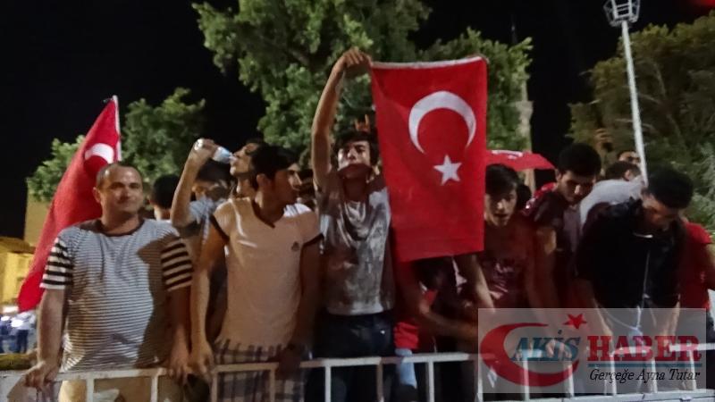 Teröre Protestoda Denizli'de Gergin Gece 35
