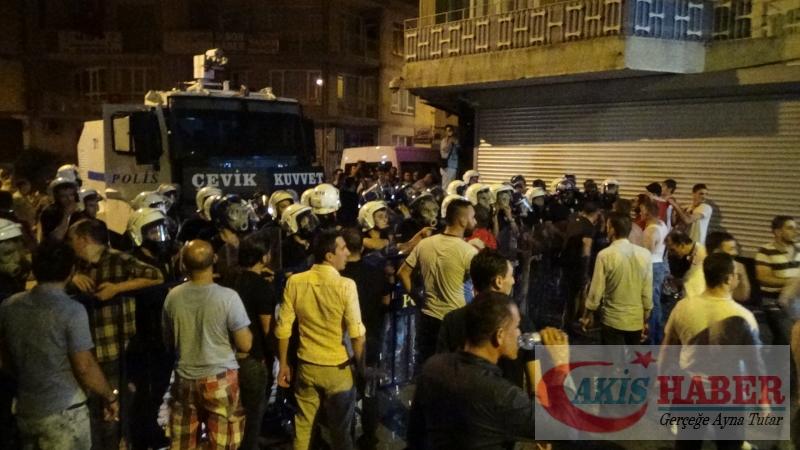 Teröre Protestoda Denizli'de Gergin Gece 39