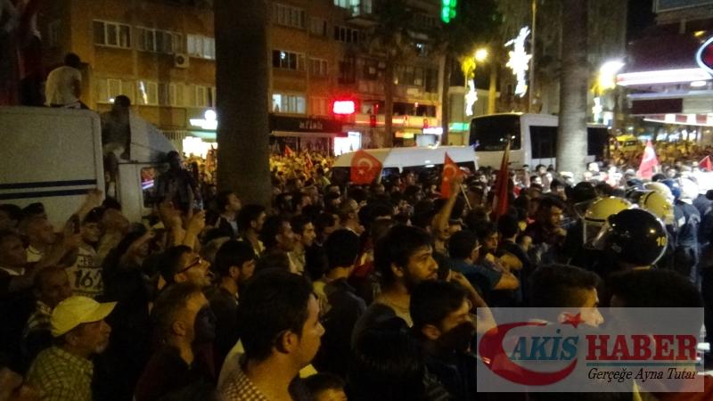 Teröre Protestoda Denizli'de Gergin Gece 40