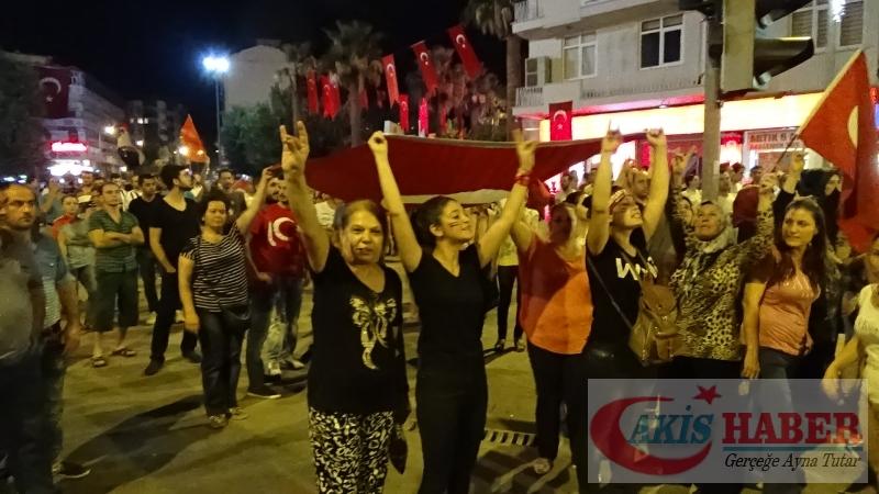Teröre Protestoda Denizli'de Gergin Gece 42
