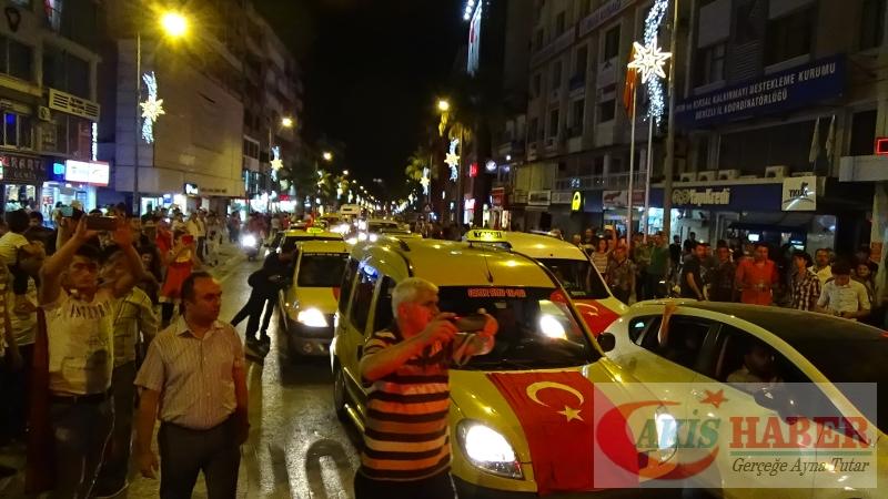 Teröre Protestoda Denizli'de Gergin Gece 44