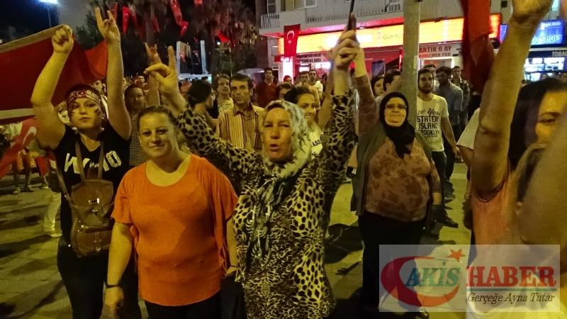 Teröre Protestoda Denizli'de Gergin Gece 47