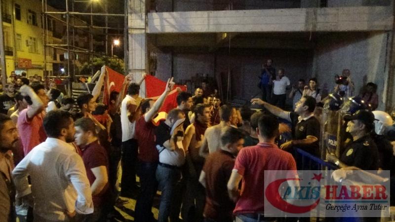 Teröre Protestoda Denizli'de Gergin Gece 48