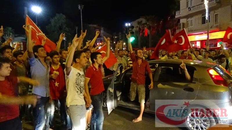 Teröre Protestoda Denizli'de Gergin Gece 5