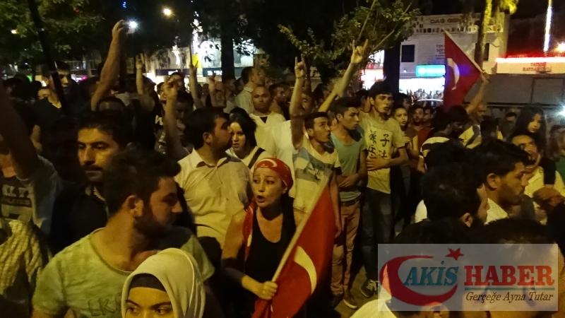 Teröre Protestoda Denizli'de Gergin Gece 50