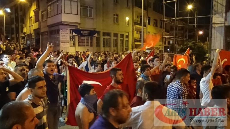 Teröre Protestoda Denizli'de Gergin Gece 52