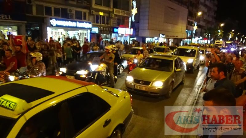 Teröre Protestoda Denizli'de Gergin Gece 6