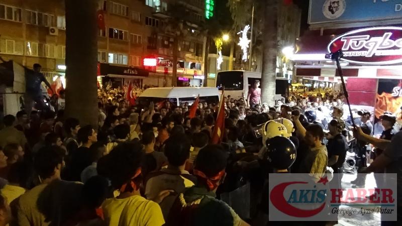 Teröre Protestoda Denizli'de Gergin Gece 7