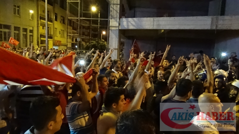 Teröre Protestoda Denizli'de Gergin Gece 8