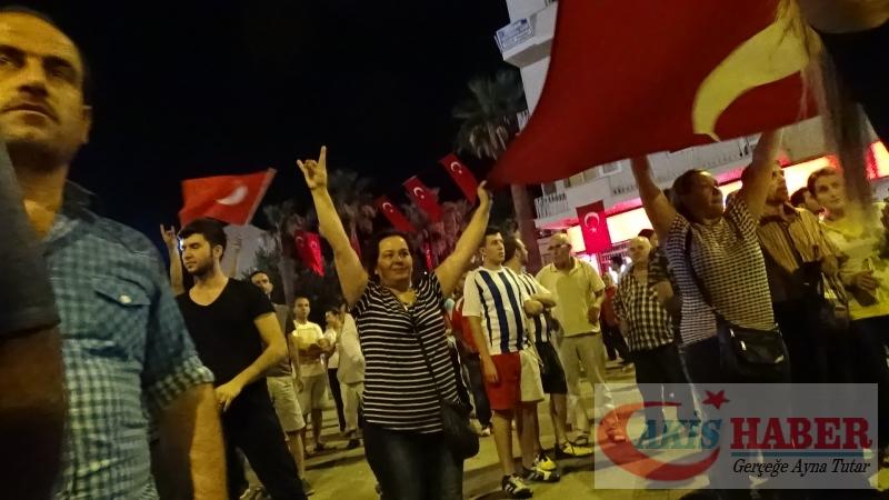 Teröre Protestoda Denizli'de Gergin Gece 9