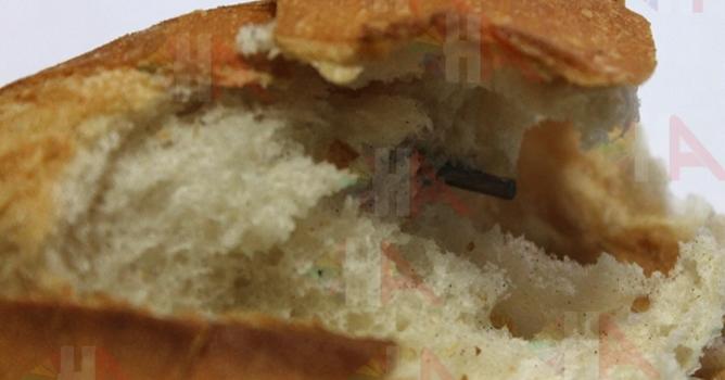 Acıpayam'da Ekmeğin İçinden Çıkan Şey Şok Etti !