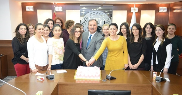 DTO Başkanı Özer'den 8 Mart Dünya Kadınlar Günü Etkinliği