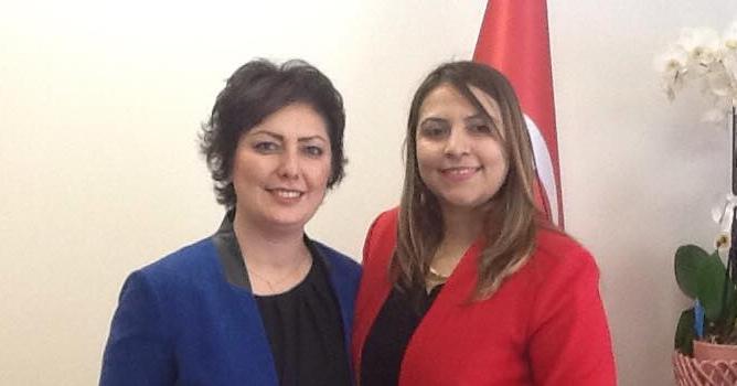Özden, Denizli MHP iL Kadın Kolları Başkanı
