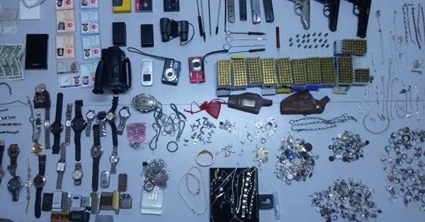 Denizli'de 94 Evde Hırsızlık Yapan Zanlı Yakalandı