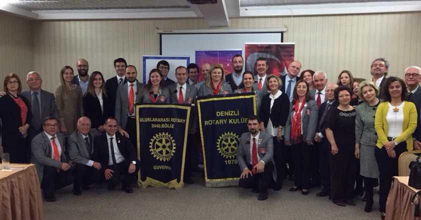 Rotary Kulübünden Cam Horoz'u Yapan Çifte Ödül