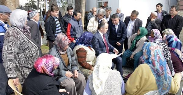 Başkan Gürlesin'den Güzelköy'e Çıkarma