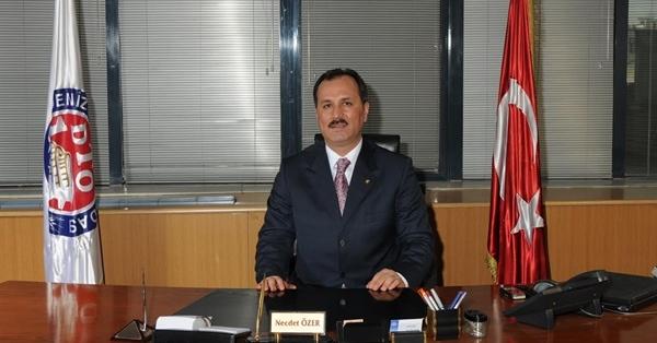 DTO Başkanı Özer'in Çanakkale Zaferi Mesajı
