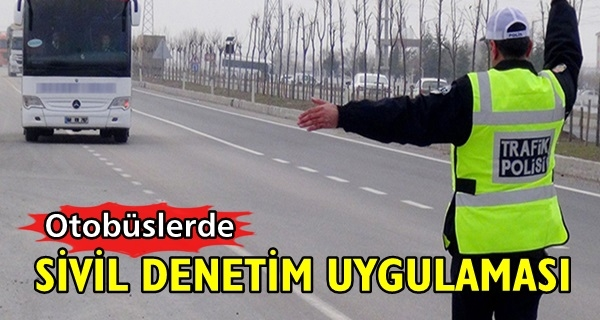 Trafikte Sivil Denetçiler