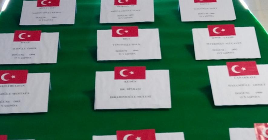 Final Okulları'ndan ''Resimlerle Çanakkale Zaferi''
