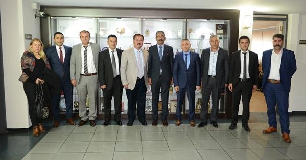 DEMİAD Yöneticileri Özer'i Ziyaret Etti