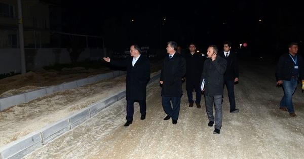 Başkan Gürlesin Gece Gündüz Denetimde