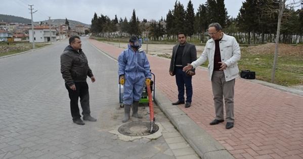 Tavas Belediyesi Haşerelerle Mücadele Çalışmalarına Başladı