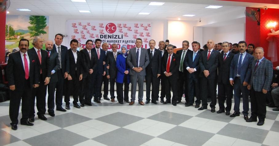 Denizli MHP Aday Adaylarını Basına Tanıttı