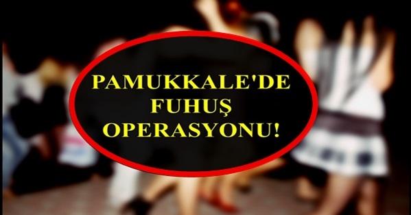 Jandarma'dan Pamukkale'de Büyük Operasyon