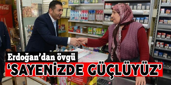 Başkan Erdoğan'dan esnaf ziyaretleri