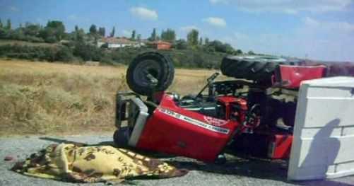 Çardak'ta Trafik Kazası 1 Kişi Öldü