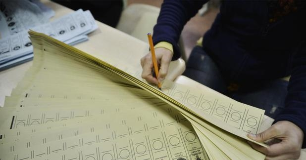 Partilerin oy pusulasındaki sıralaması belli oldu