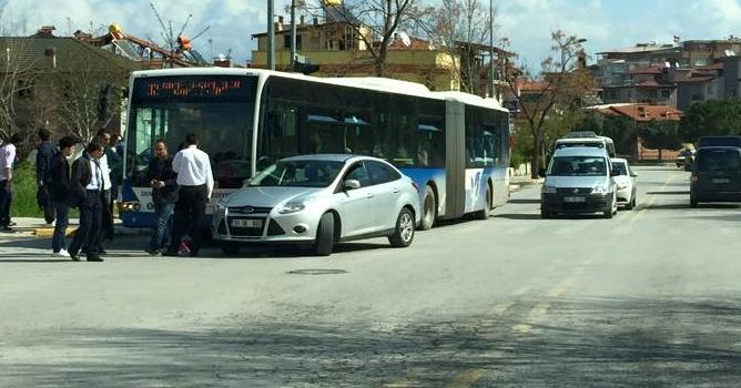 Denizli'de Otobüs Kazası!