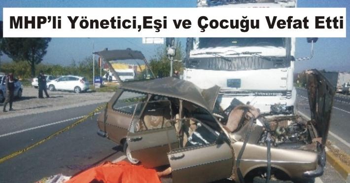 Aydın'da Kırmızı Işık Faciası: 3 Ölü
