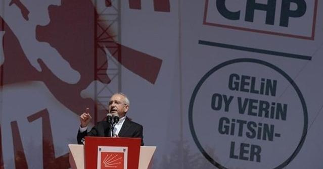 Kılıçdaroğlu Seçim Bildirgesini Açıklıyor