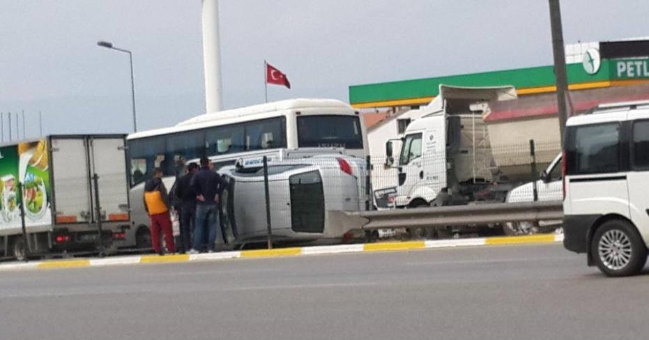 Denizli Üçgen'de Akıl Almaz Kaza!...