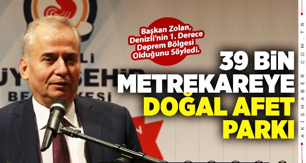 Başkan Zolan Denizli Büyük Depreminin 300. Yılı Panelinde Konuştu