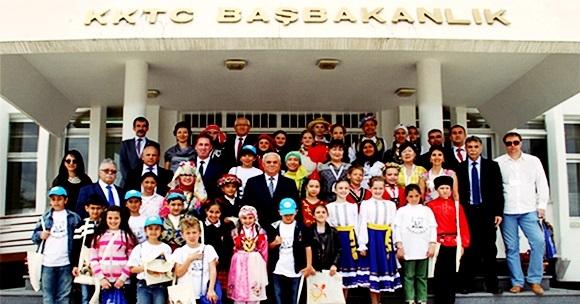 Kıbrıs 23 Nisan Kutlamalarında Denizli Coşkusu