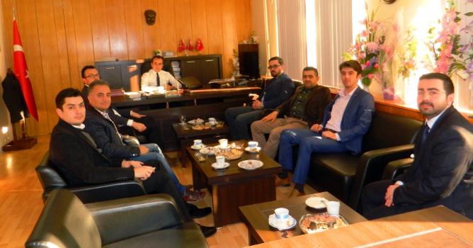 BASİAD Yönetimi Babadağ Kaymakamlığını Ziyaret Etti