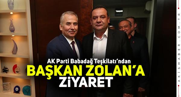 AK Parti İlçe Başkanı'ndan Zolan'a Teşekkür