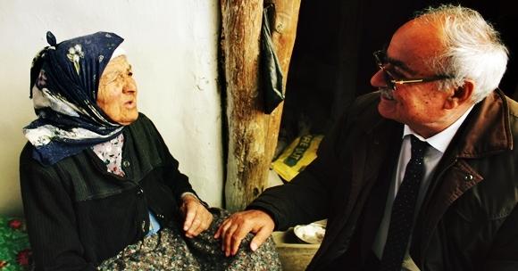 Başkan Gülsever Yaşlıları Unutmadı