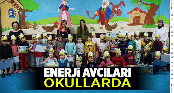 """ADM Elektrik Dağıtım'ın """"Enerji Avcıları"""" Okullarda"""