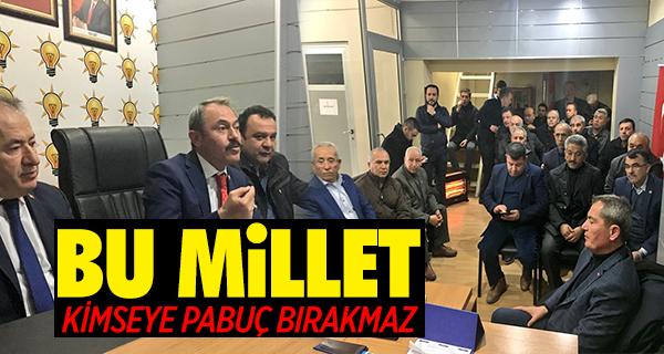 Milletvekili Şahin Tin, Babadağ'dan Böyle Seslendi;